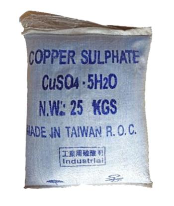CUSO4.5H2O – COPPER SULPHATE PETAHYDRATE (CU 24.5%) – ĐÀI LOAN