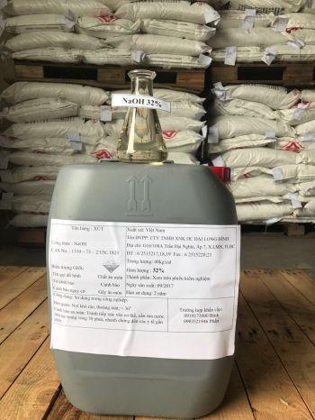 NAOH – Natri Hydroxide Liquid ( sút lỏng) 32% – Việt Nam