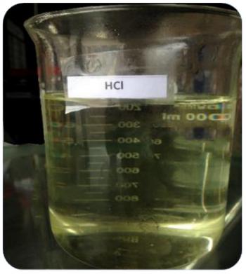 HCL – Acid Clohydric 32% – Việt Nam