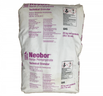 Na2B4O7.5H2O – Borax Petahydrate (NEOBOR) – Mỹ