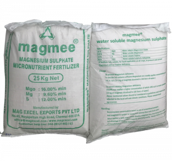 MGSO4.7H2O – MAGNESIUM SULPHATE HEPTAHYDRATE 99.5% – ẤN ĐỘ